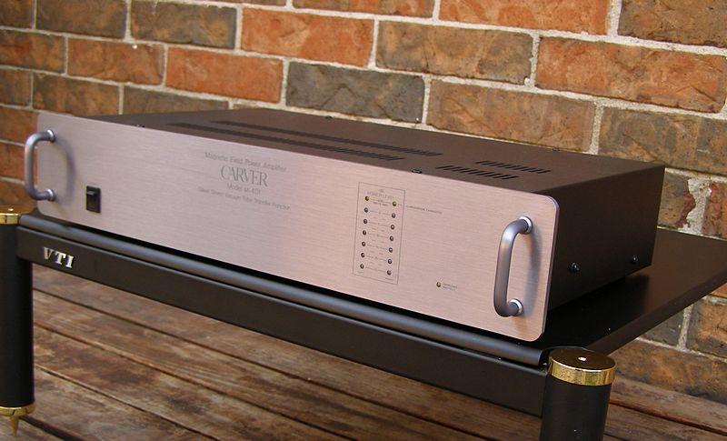 carver m40t power amplifier