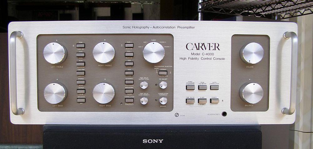 Carver C 4000 Preamplifier