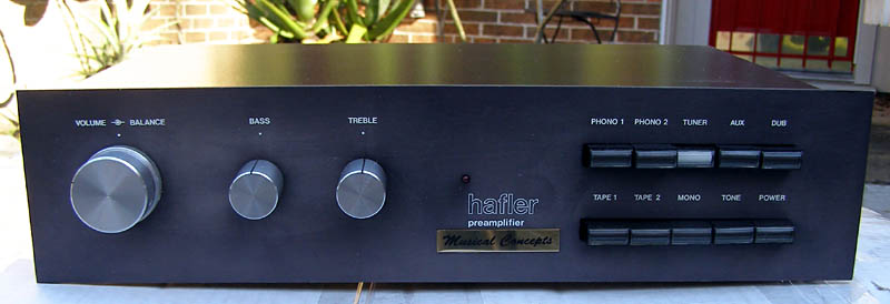 Sold As Is >> David Hafler DH-101 Preamp