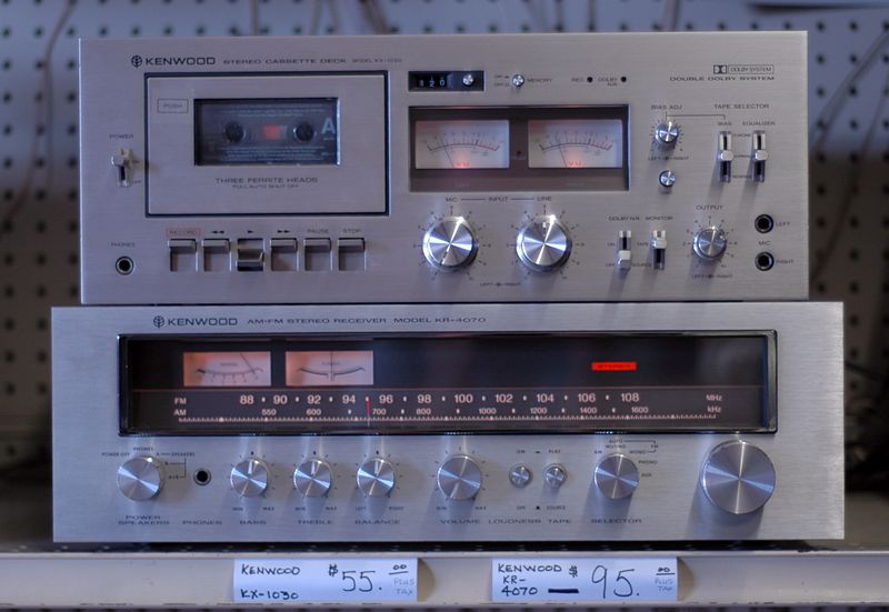 Vintage Stereo Inventory Houston - CD Players and Cassette Decks