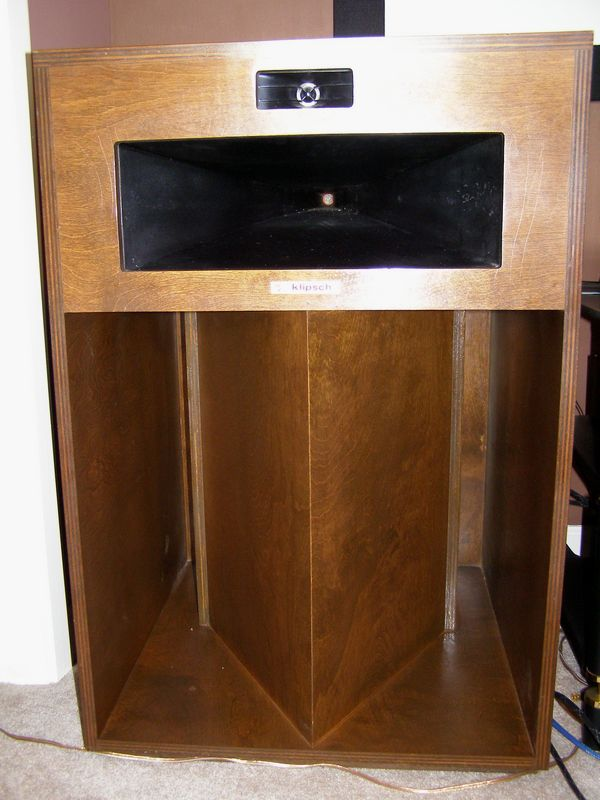 klipsch la scala speakers 610 290 1100 jla forums. Black Bedroom Furniture Sets. Home Design Ideas
