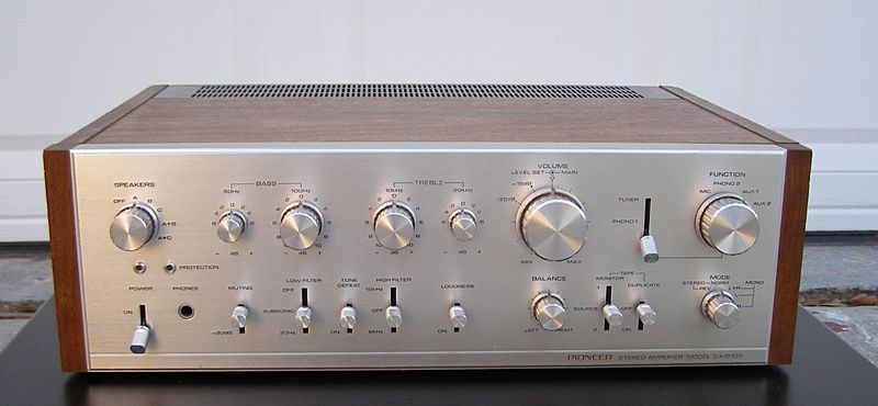 Vintage Stereo Inventory Houston - Separate Components