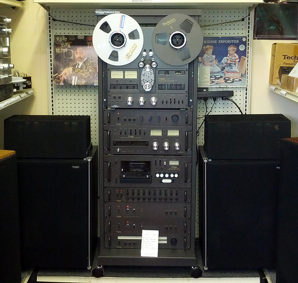 Vintage stereo inventory houston separate components for Stereo casa